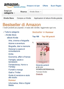 mutande parlanti 1 amazon classifica bestseller